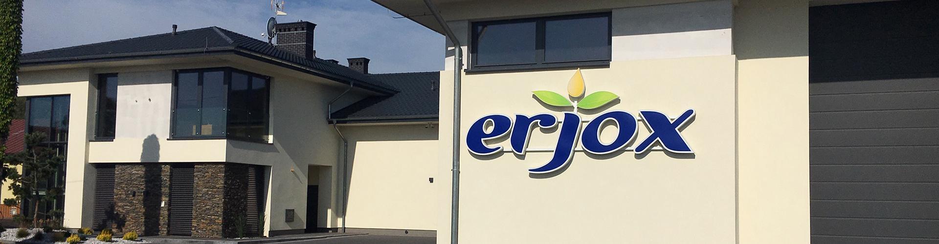 ERJOX - siedziba producenta oleju roślinnego